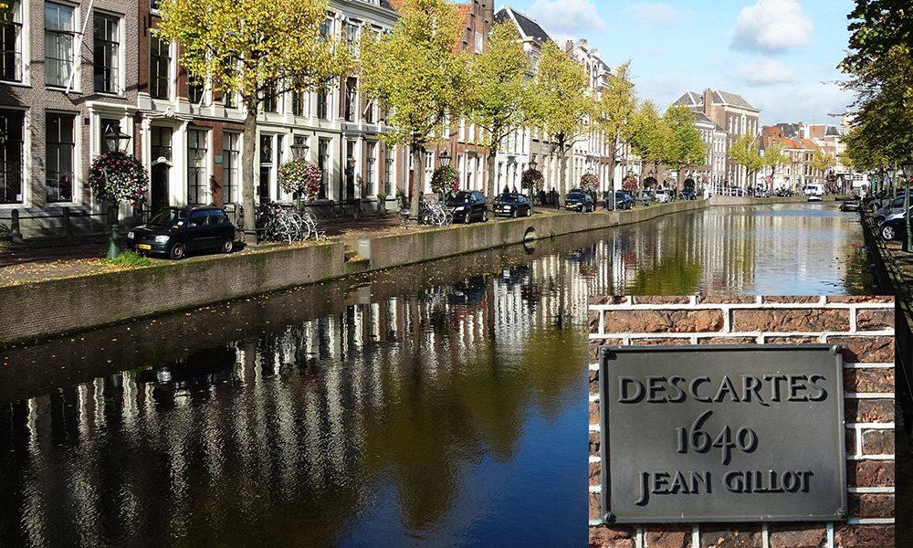Calle Rapenburg en Leiden, Holanda: Descartes habitó en el número 21